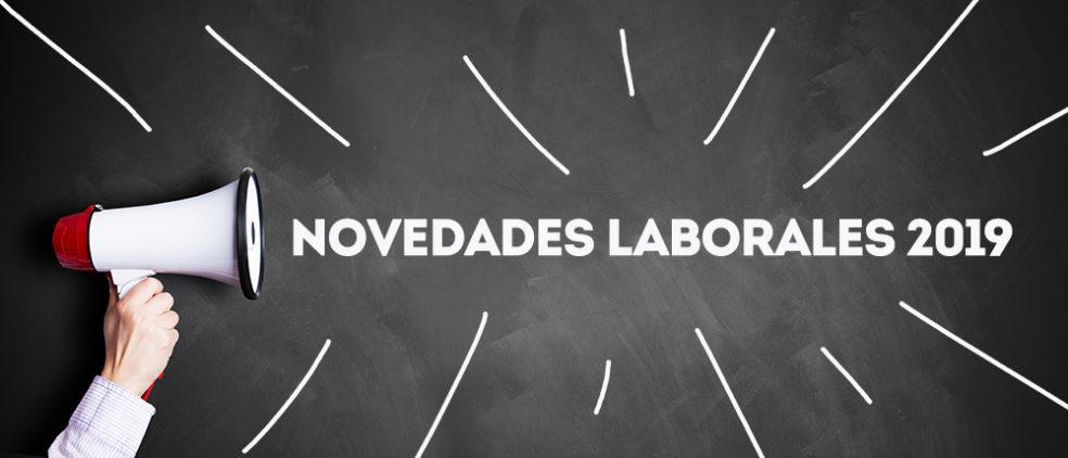 Novedades laborales 2019